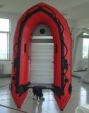 合板の床(FWS-A230)が付いている膨脹可能なボート