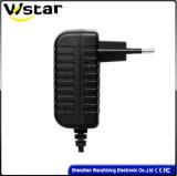 AC gelijkstroom van de Stop van de EU 18W 12V 1.5A de Adapter van de Macht