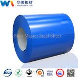 Голубой цвет Prepainted гальванизированный Corrugated лист материала толя стальной