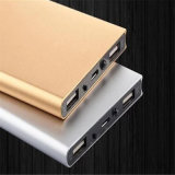 8000mAh Super Slim Book Shape Portable Power Bank Carregador de bateria