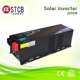 Inversor solar 6kw 48V 220V 60Hz/50Hz de la onda de seno de la CA de la C.C.