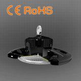 Ce RoHS LED UFO 100W de la Bahía de alta la luz, la garantía de 3 años o 5 años de garantía.