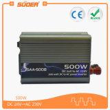 Suoer Venta caliente 500W DC 24V a 220V AC Inversor de potencia (SAA-500B)