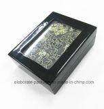 Rectángulo de regalo de madera estándar de lujo del estilo clásico del precio de fábrica