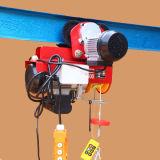 Monophasé 110V et 220V Petite télécommande sans fil Mini-Electric Wire Rope PA 1500kg pour le levage palan