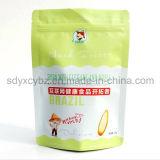 L'uso industriale riciclabile dell'alimento e della caratteristica eccellente si leva in piedi in su il sacchetto della frutta dello spuntino con la chiusura lampo