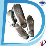 Accoppiamento di nylon dell'attrezzo del manicotto di tubo della flessione sicura Grooved del morsetto