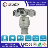 100mの夜間視界HD PTZ赤外線CCTVのカメラ