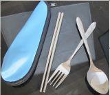 Edelstahl-Arbeitsweg-Besteck stellte ein,/bewegliches Tischbesteck-Set