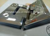 Miroir en alliage de zinc de /SUS/charnière carrée en verre 135degree de satin