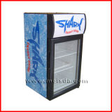 Холодильник двери 40 литров чистосердечный стеклянный