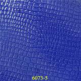 Leer van de Korrel Pu van de Krokodil van de manier het Materiële Synthetische voor de Handtassen van de Dame `S