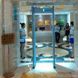 Van de LEIDENE van de kolom Poort Detector van het Alarm de Lichte Tonende Automatische Tegen