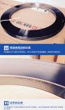 Cartabón de centro en longitudes cortadas o bobinas que cortan la regla de acero de la perforación con tintas