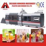 Máquina plástica de Thermoforming para las tazas de los PP (HFM-700B)
