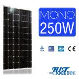 250W 60cells Monosonnenenergie für weg von Rasterfeld-Sonnensystem