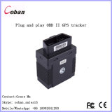 Plug and Play OBD Car GPS Tracker com Lbs / Cell-ID Locating