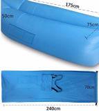 Sofa paresseux se pliant rapide extérieur de sac d'air de fainéant de sommeil de lieu de visites
