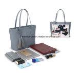 方法Tote Handbag多彩なPUの女性のカスタマイズ