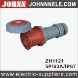 IP67 5p 63A gute Qualitätswasserdichter Verbinder