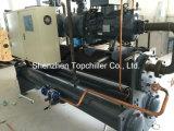 interpréteur de commandes interactif de réfrigérateur de compresseur de 75ton Bitzer et échangeur de chaleur refroidis à l'eau de tube