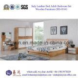 Cama de Estilo Moderno com Mobiliário de Sala de Couro em Couro (SH-004 #)