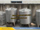 Stoom die Mengt Tank voor Melk 1000liter verwarmt