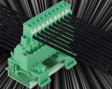 接続をワイヤーで縛るワイヤーのための5.08mmピッチが付いているDINの柵のPlugableの端子ブロック