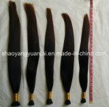 Нарисованные двойником людские волосы девственницы выдвижения большого части волос Remy