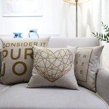 Almofada lombar decorativa de linho de algodão razoável para o exterior