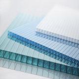 strati di cristallo del tetto del policarbonato di 10mm per una vendita della serra di arresto