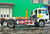 Rollo descolgado levantar el cuerpo de camiones de basura, roll-off de camiones de basura de verificación
