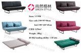Base di sofà del tessuto di svago per il salone
