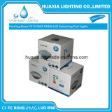 Reines weißes/warmes Pool-Licht des Weiß-12V 18-35W IP68 PAR56 Unterwasserder schwimmen-LED