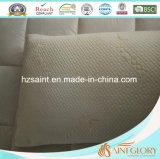 Saint Glory Durable Bamboo Shell com Zipper Memory Foam Pillow