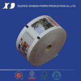 Rouleau de papier les plus populaires pour l'impression de produits chimiques de revêtement de papier thermique