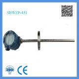 Shanghai Feilong Pantalla LCD transmisor de temperatura RTD Teoría Sbwzp integrado con la cabeza a prueba de explosiones
