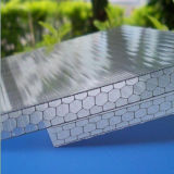 12mm Lowes fehlerfreier Beweis-Bienenwabe-Polycarbonat-Panel-Plastik