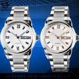Yxl-557 2016 Mode Montres à bijoux en acier inoxydable Lovers Quartz Watch Montres à cadeau