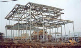 Здание Prefab мастерской пакгауза стальной структуры стальное