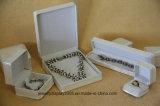 Joyería Blanca Cajas De Regalo Anillo De Pendiente Pulsera Collar Paquete De Boda PU