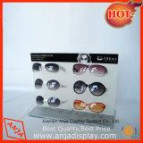 Visualizzazione di Eyewear del banco di mostra di vetro del metallo