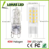 Светодиодные лампы для кукурузы E14 G4, G9 2835 SMD 5 Вт теплый белый свет 2800k 40 Вт запасная лампа накаливания