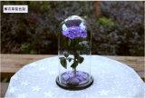 Regalo de boda preservado de la flor fresca
