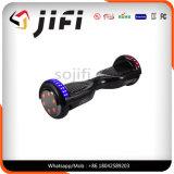 Scooter elétrico de auto-equilíbrio de duas rodas com Bluetooth e luz LED
