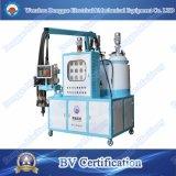 Tres componentes refrigerador y congelador de aislamiento de elastómero de poliuretano máquina de colada