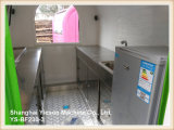 Ys-Bf230-3 coloridos de alta calidad de crepe carrito de alimentos Kiosk Ice Cream Cart para la venta