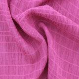 Polyester-Luftblasen-Windung-Gewebe für Frauen-Kleid