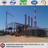 Armazém pesado Prefab da central energética da construção de aço fácil instalar