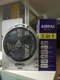Solarlichter, Solarradio und elektrischer Ventilator (einteilig)